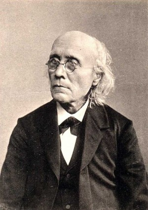 Gustav Theodor Fechner, one of the fathers of psychophysics.