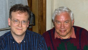 I and Dan in May 2008.