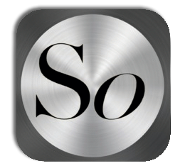 "Peter Gabriel's ""So"" App icon."